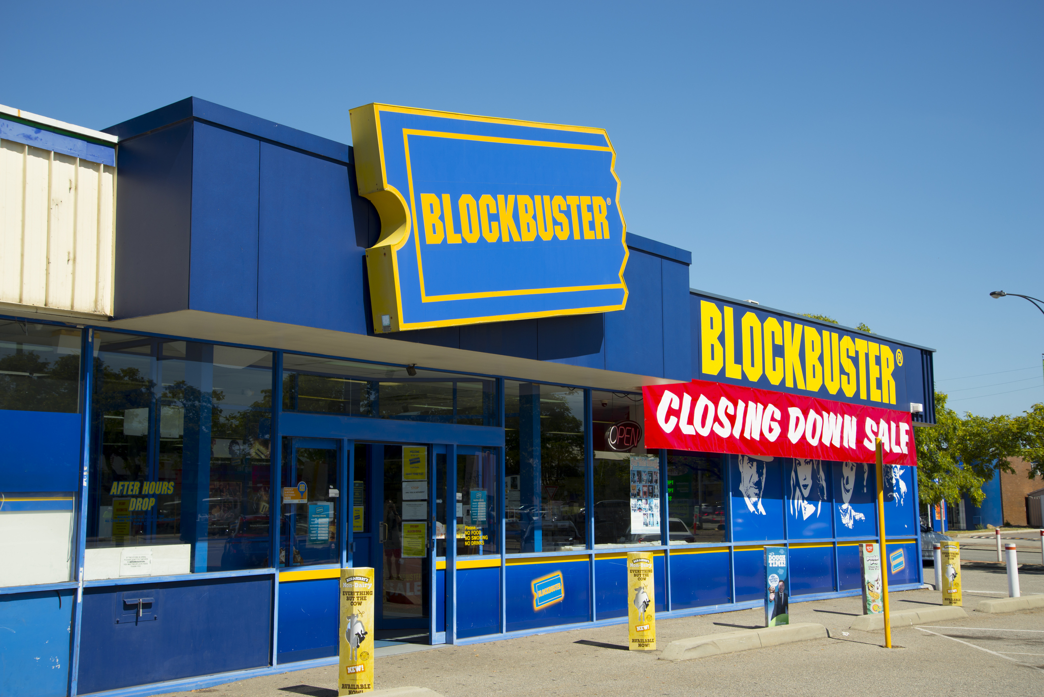 Netflix took down blockbuster