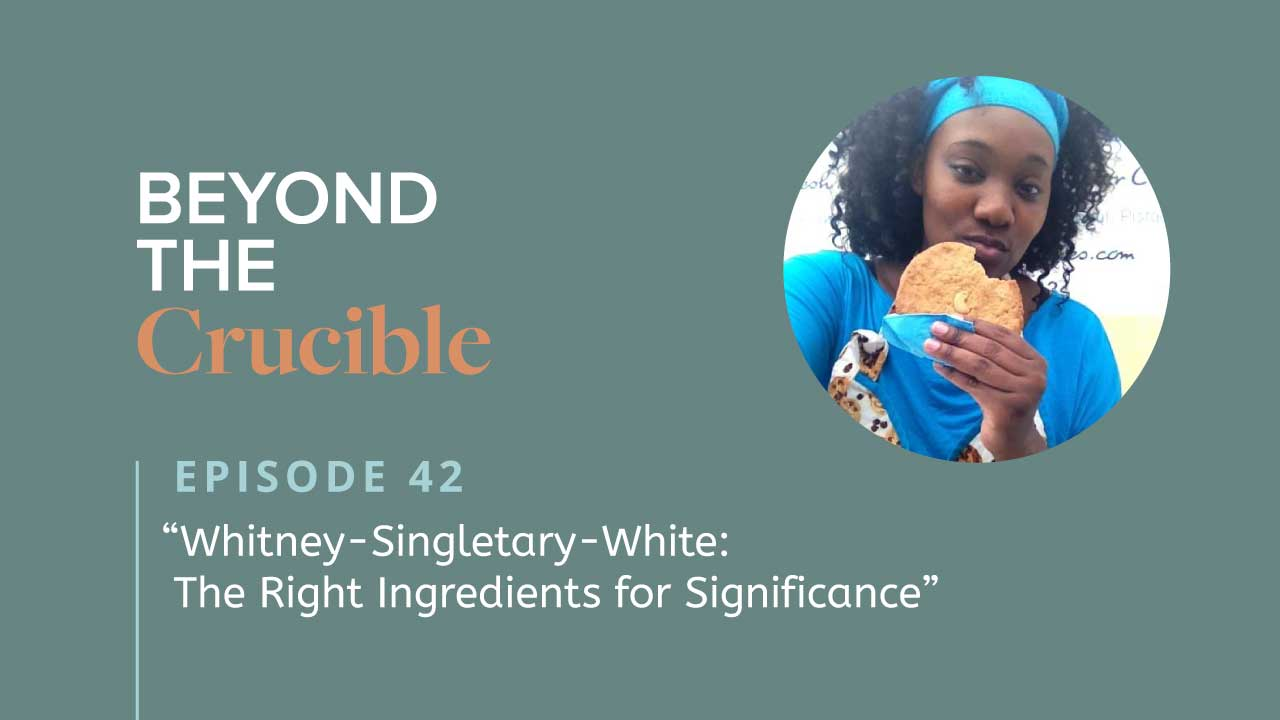 Whitney-Singletary-White: The Right Ingredients for Significance #42